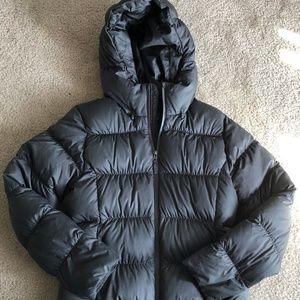 Patagonia Small Dark Gray Duck Down Puffer Jacket